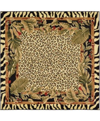 Maasai Mss1 Ivory 6' x 6' Square Area Rug