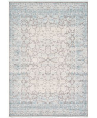 Norston Nor3 Blue 7' x 10' Area Rug