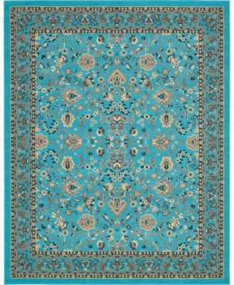Arnav Arn1 Turquoise 8' x 10' Area Rug