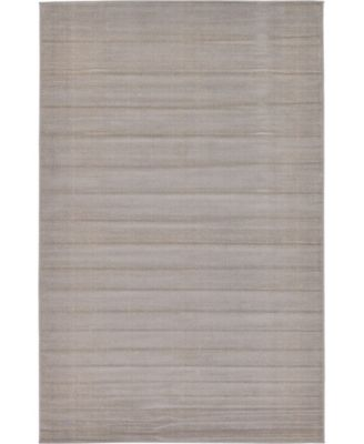 Axbridge Axb3 Gray 5' x 8' Area Rug