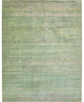 Malin Mal8 Green 10' x 13' Area Rug