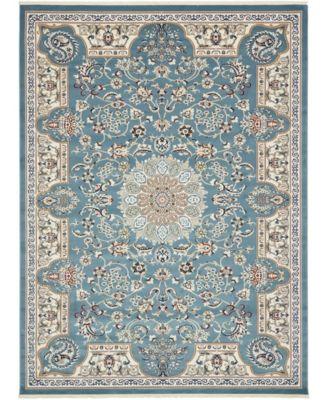 Zara Zar5 Blue 10' x 13' Area Rug