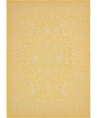 Pashio Pas6 Yellow 9' x 12' Area Rug