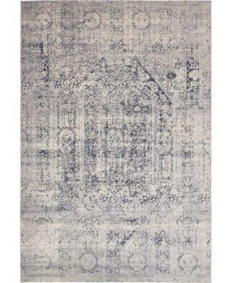 """Odette Ode1 Gray 10' x 14' 5"""" Area Rug"""