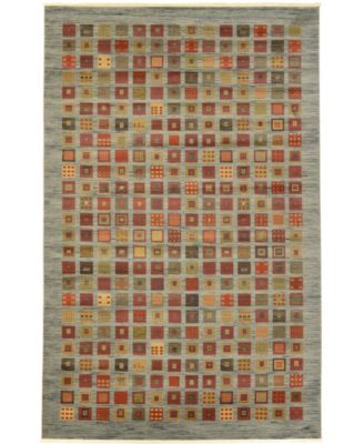 "Ojas Oja6 Light Blue 10' 6"" x 16' 5"" Area Rug"