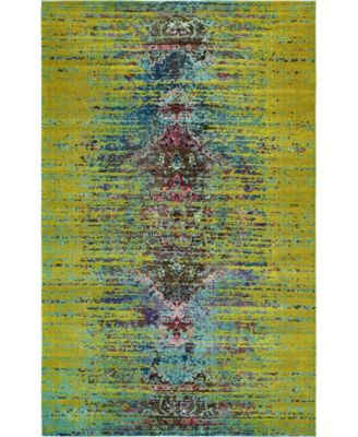 "Brio Bri6 Green 10' 6"" x 16' 5"" Area Rug"