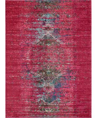 Brio Bri6 Pink 9' x 12' Area Rug