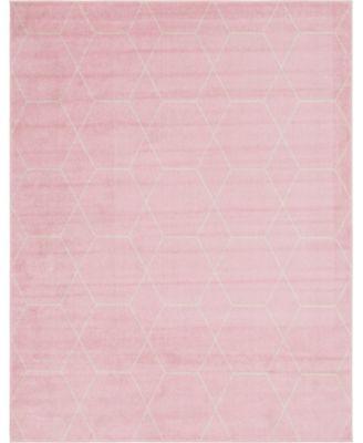 Plexity Plx1 Pink 8' x 10' Area Rug
