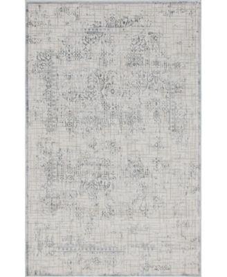 Aitana Ait2 Gray 5' x 8' Area Rug