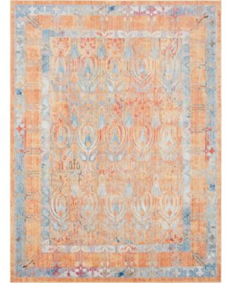 Zilla Zil2 Orange 9' x 12' Area Rug