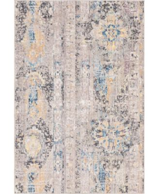 Nira Nir1 Light Brown 4' x 6' Area Rug