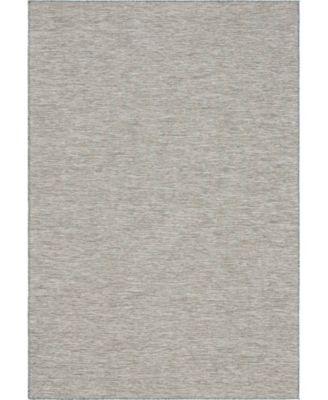 """Pashio Pas8 Light Gray 6' 3"""" x 9' Area Rug"""