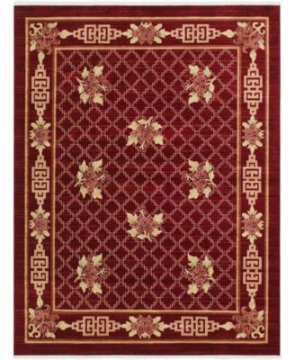 Sahil Sah5 Red 8' x 10' Area Rug