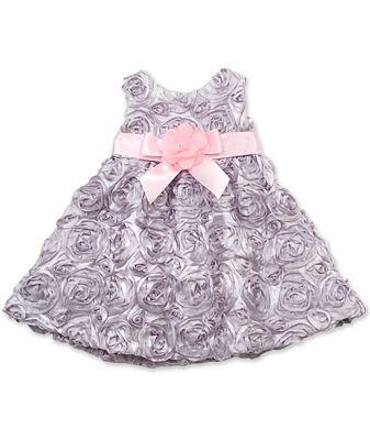 Rare Editions Baby Dress Baby Girls Soutache Dress Kids