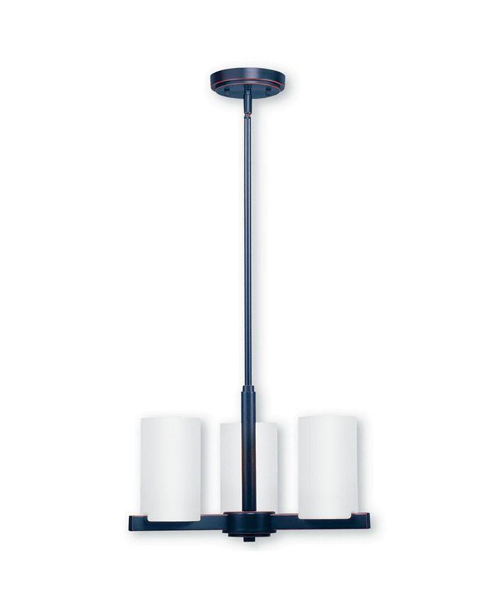 Livex - Astoria 3-Light Chandelier