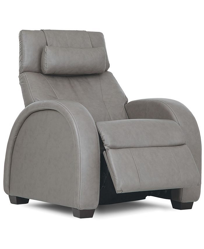 """Furniture - Pachna 33"""" Leather Recliner"""