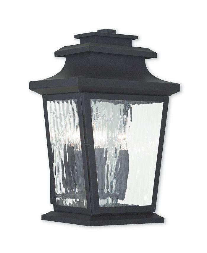 Livex - Hathaway 3-Light Outdoor Wall Lantern