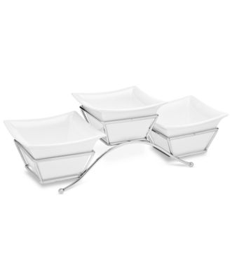 Godinger Serveware, Piazza 3 Bowl Server
