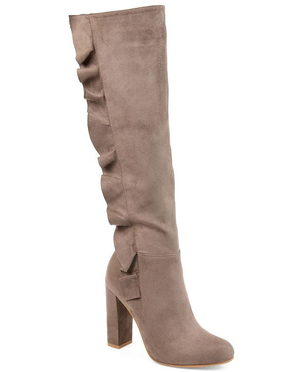 Journee Collection Women's Extra Wide Calf Vivian Boot