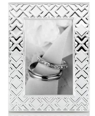 "Martha Stewart Collection Picture Frame, Origami 4"" x 6"""