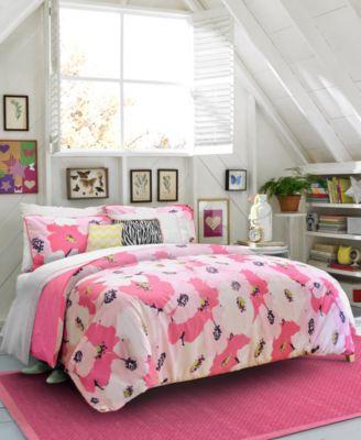 Teen Vogue Bedding, Poppy Dreams Comforter Sets. Reg. $60.00 - 180.00