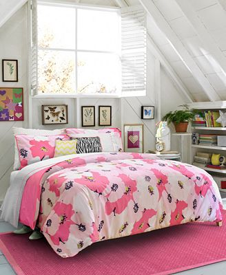 Closeout Teen Vogue Poppy Dreams Full Queen Comforter