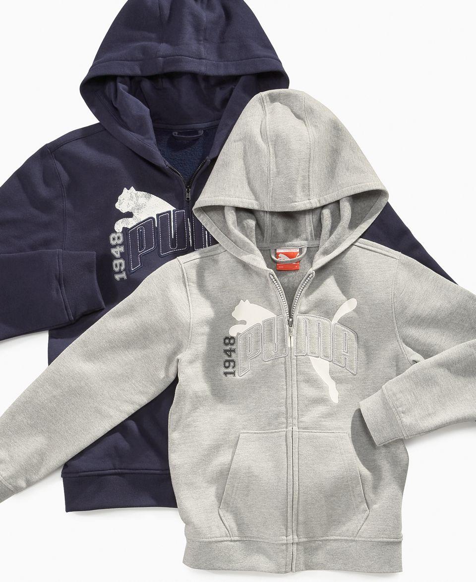 Hurley Kids Hoodie, Little Boys Zip Up Logo Hoodie