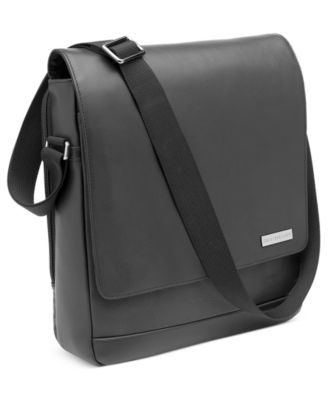 Hartmann Business Case Leather Vertical Messenger Bag