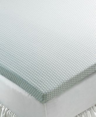 "SensorGel 3"" Gel Memory Foam Queen Mattress Topper, Breathable Foam with COOLcloth Cover, Only at Macy's"