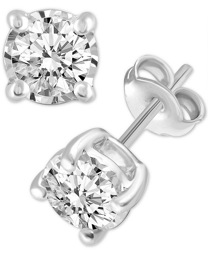 Macy's - Diamond Stud Earrings (3/4 ct. t.w.)