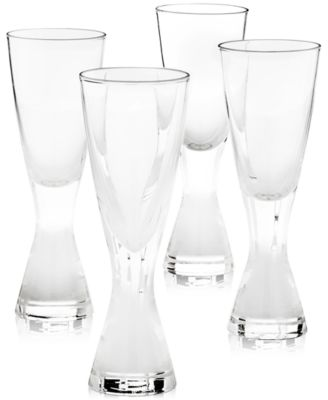 Plateau Shot Glasses, Set of 4, Created for Macy's