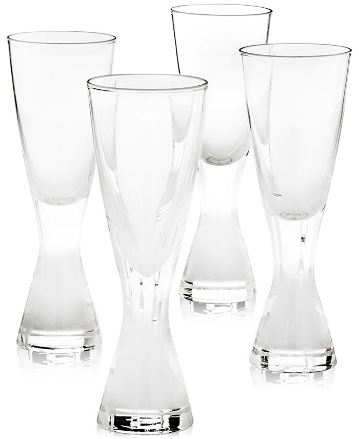 Hotel Collection - Plateau Shot Glasses, Set of 4