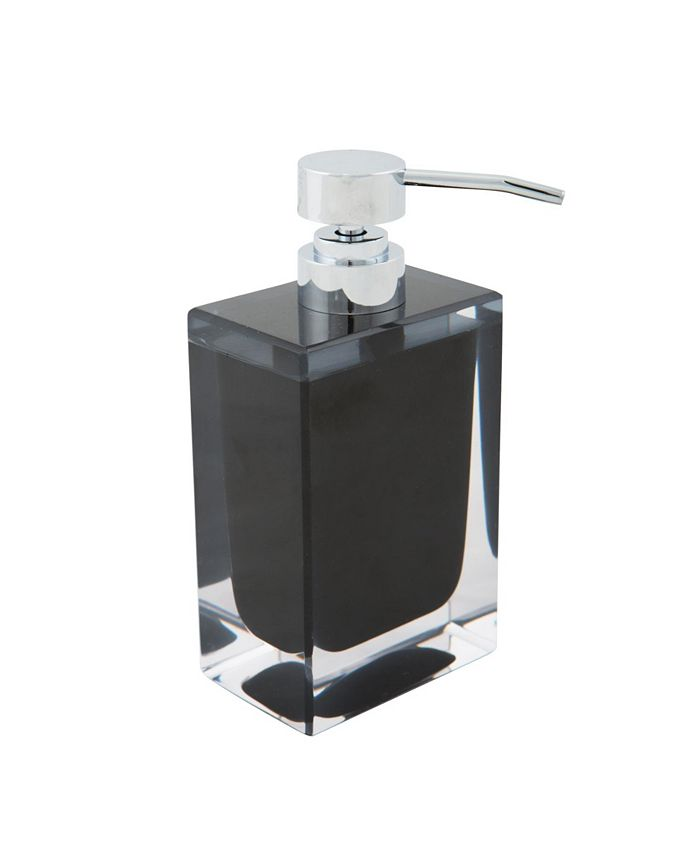 Bath Bliss - Acrylic Square Hand Soap Pump