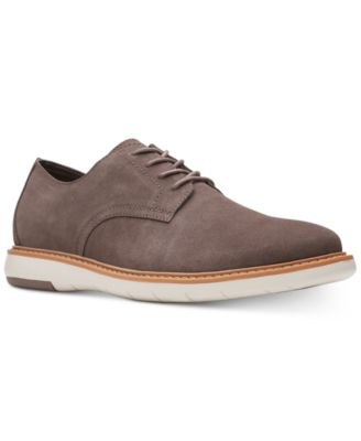 Draper Taupe Suede Casual Lace-Up Shoes