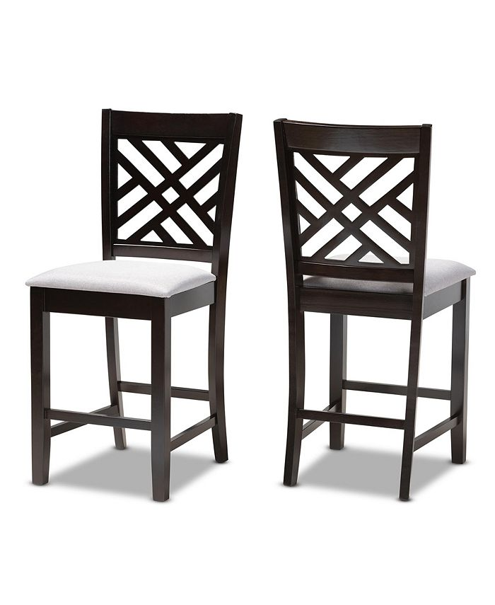 Furniture - Caron Pub Chair Set, Quick Ship