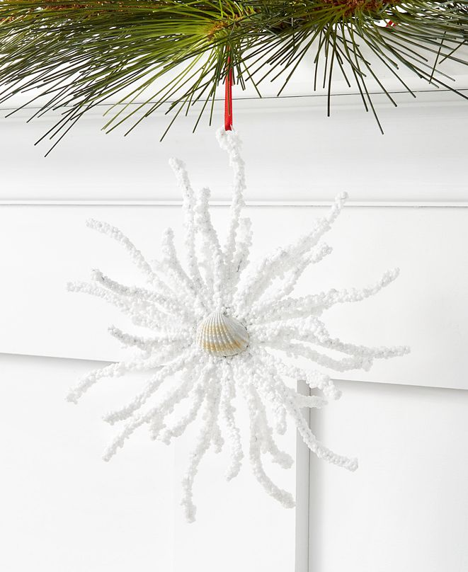 Holiday Lane Seaside Coral Ornament, Created for Macy's