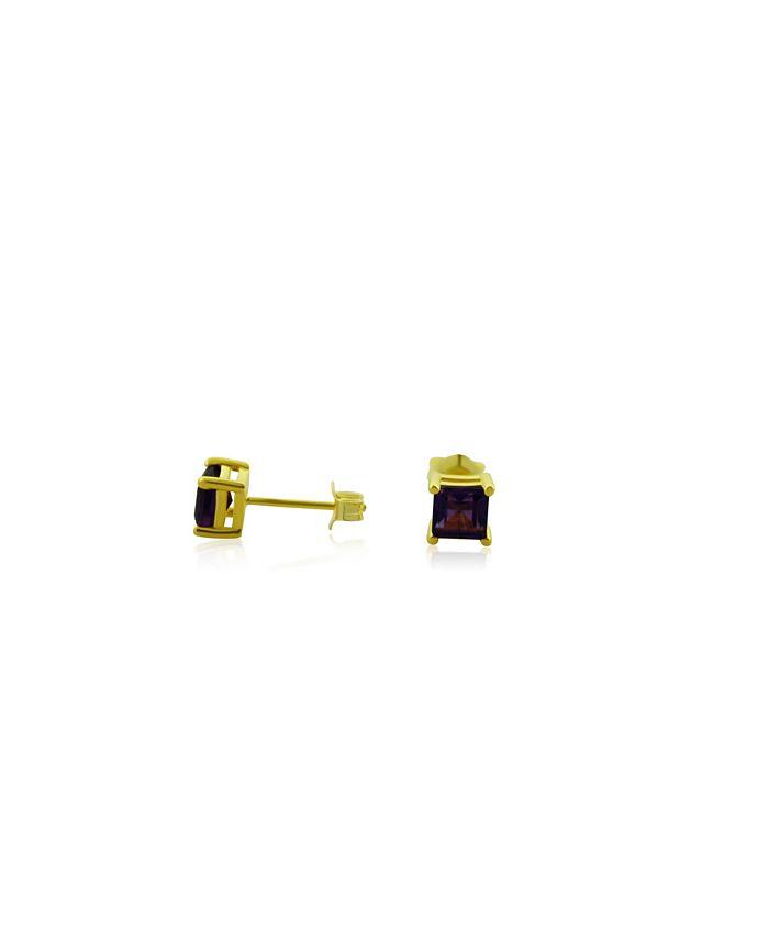 Macy's - Amethyst (1 ct. t.w.) Stud Earrings