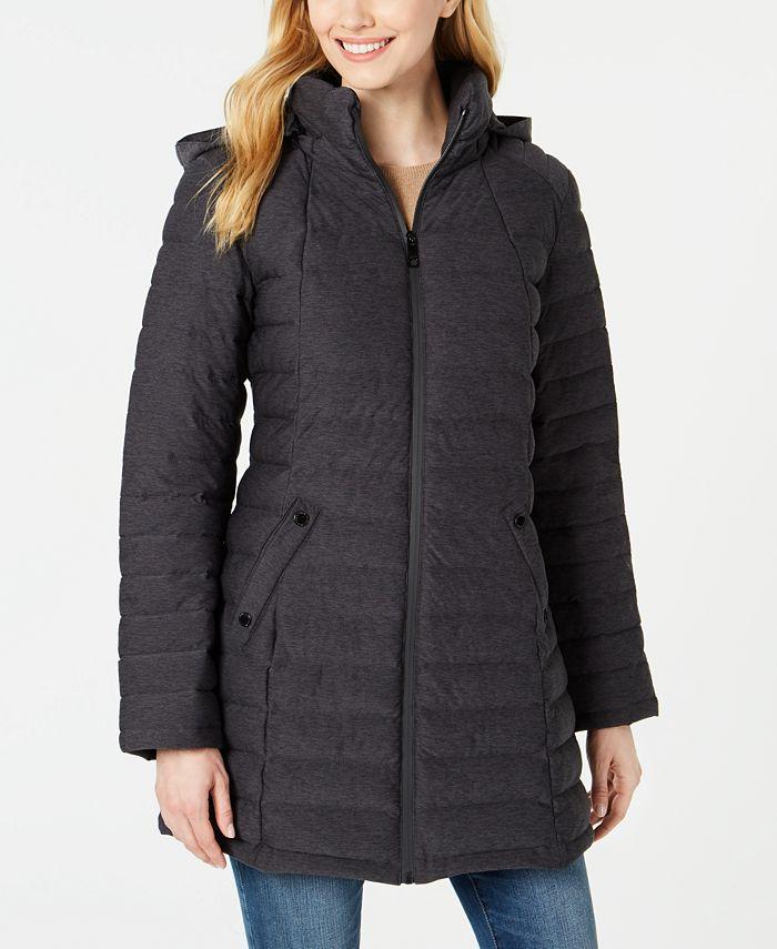 Nautica - Hooded Packable Puffer Coat