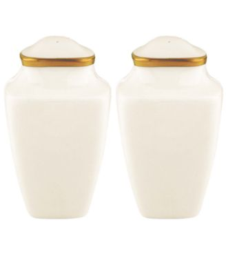 Lenox Dinnerware, Eternal Square Salt and Pepper Shakers