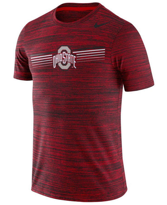 Nike Men's Ohio State Buckeyes Legend Velocity T-Shirt & Reviews - Sports Fan Shop By Lids - Men - Macy's