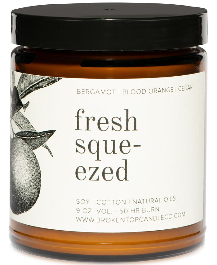Broken Top Candle Co - . Fresh Squeezed Candle, 9-oz.
