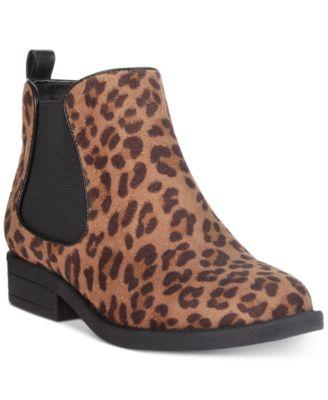 Rampage Leopard Chelsea Booties