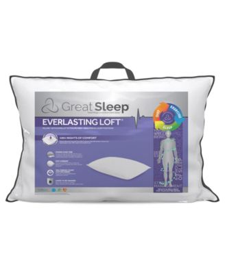 Everlasting Loft with Suprelle® ExtraLife Fiber King Pillow
