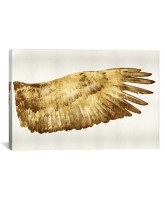 Golden Wing Ii by Kate Bennett Gallery-Wrapped Canvas Print - 18
