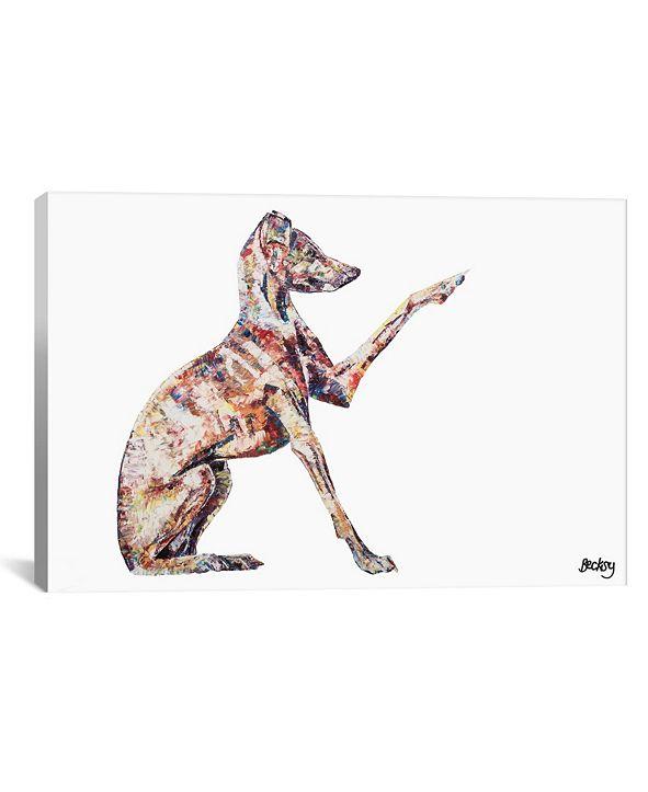"iCanvas Italian Greyhound by Becksy Gallery-Wrapped Canvas Print - 18"" x 26"" x 0.75"""