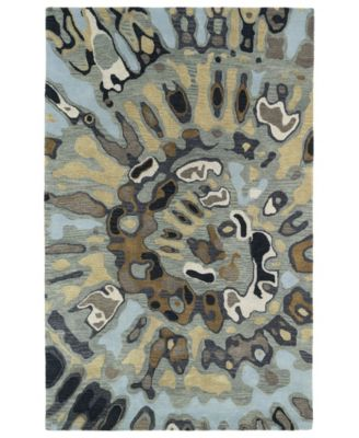 "Brushstrokes BRS04-86 Multi 3'6"" x 5'6"" Area Rug"