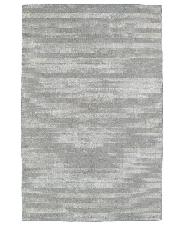 "Kaleen Luminary LUM01-75 Gray 5' x 7'9"" Area Rug"