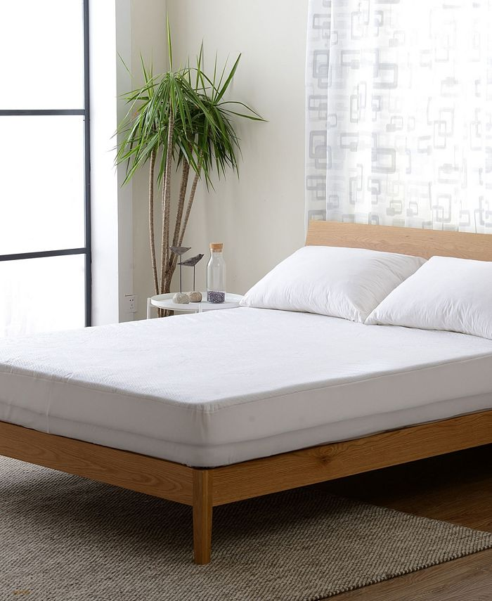 Cheer Collection - Ultra Soft Tencel Air Flow Fabric Waterproof Fitted Mattress Protector - Twin