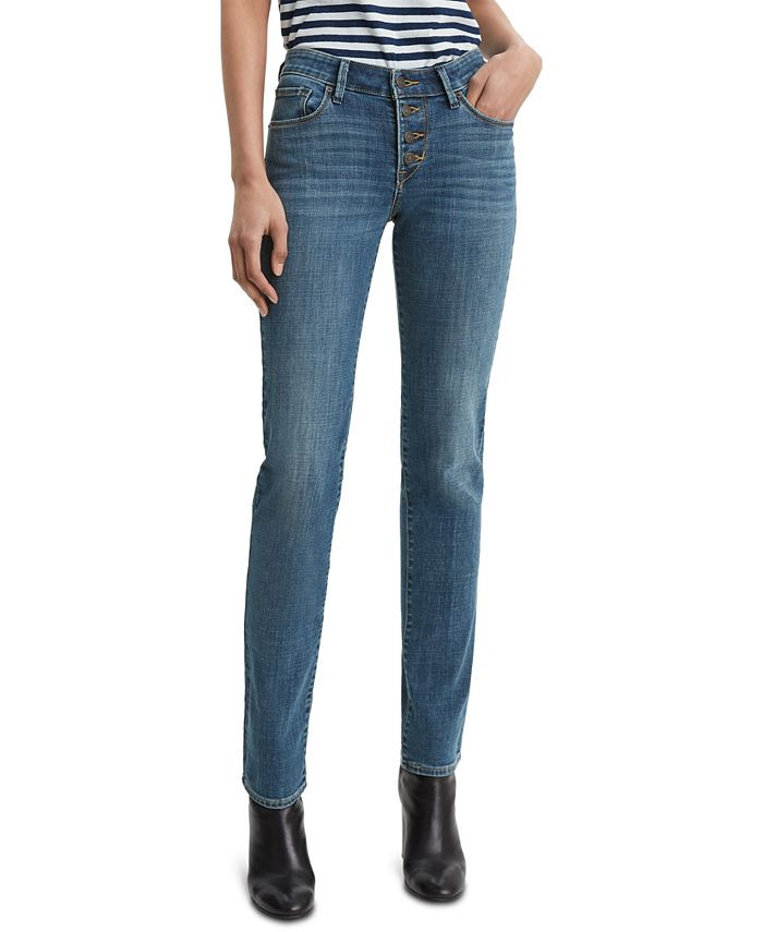 Levi's - Classic Button-Front Straight Jeans