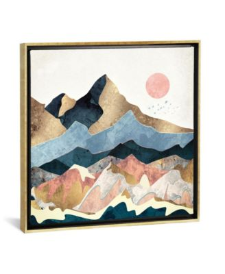 Golden Peaks by Spacefrog Designs Gallery-Wrapped Canvas Print - 26